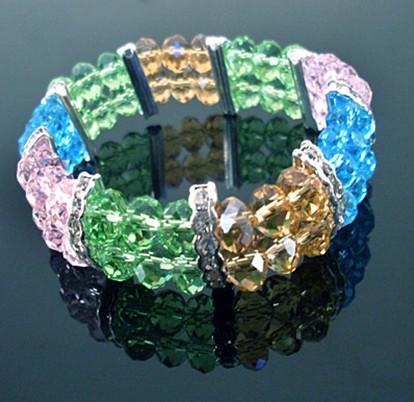 crystal bracelets with rhinestones